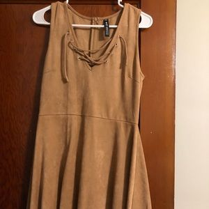 Lord & Taylor Suede dress
